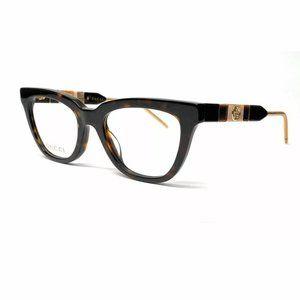 Gucci Women's Havana Square Eyeglasses!